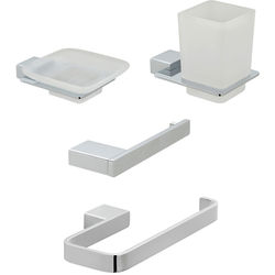 Vado Phase Bathroom Accessories Pack A05 (Chrome).