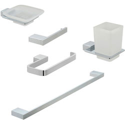 Vado Phase Bathroom Accessories Pack A06 (Chrome).