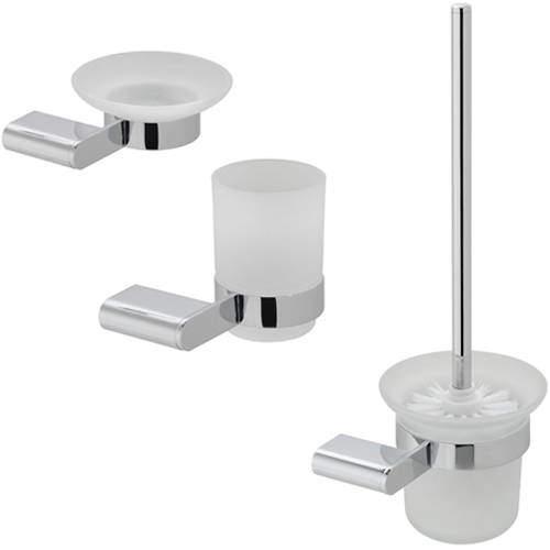 Vado Photon Bathroom Accessories Pack A05 (Chrome).