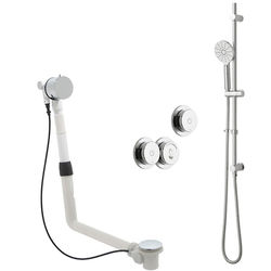 Vado Sensori SmartDial Thermostatic Shower, Slide Rail, Bath Filler & Remote.