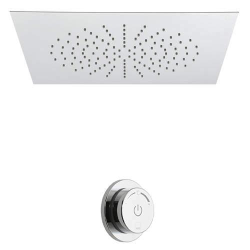 Vado Sensori SmartDial Thermostatic Shower & Square Head (1 Outlet).
