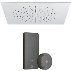 Vado Sensori SmartTouch Shower, Remote & Square Head (Pumped, 1 Outlet).