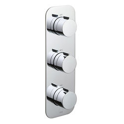 Vado Altitude Thermostatic Shower Valve With 2 Outlets (Chrome).