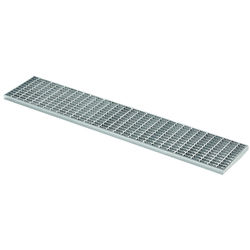 VDB Industrial Drains Connect Channel Mesh Grating Part 498x162mm.