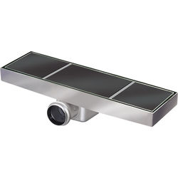 VDB Tile Drains Shower Tile Channel 910x300mm (Stainless Steel).