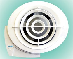 Vectaire E-Smile SAP Q Eligible Extractor Fan, Cord Or Remote (White).