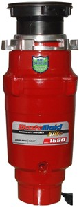WasteMaid Elite 1680 Waste Disposal Unit With Continuous Feed (Standard).