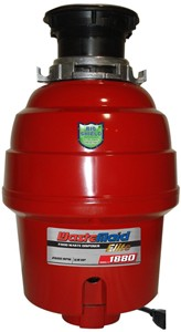 WasteMaid Elite 1880 Waste Disposal Unit With Continuous Feed (H-Duty).