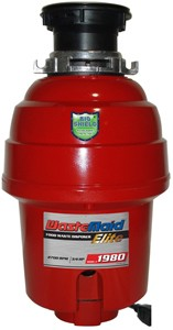 WasteMaid Elite 1980 Waste Disposal Unit With Continuous Feed (Deluxe).