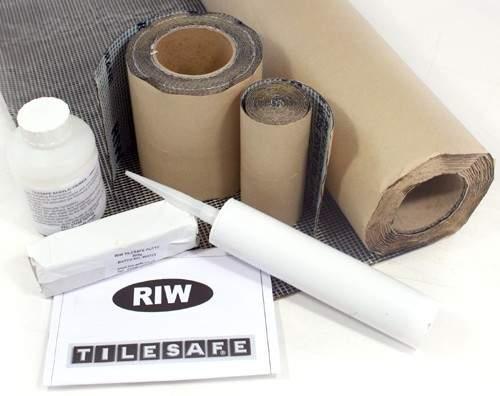 RIW Tilesafe, Wetroom Tanking Kit (10 Square Meters).