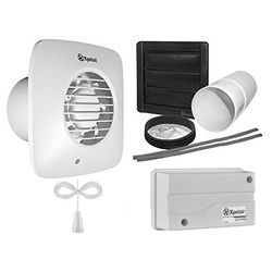 Xpelair Simply Silent 12v Extractor Fan With Pullcord & Kit (100mm).