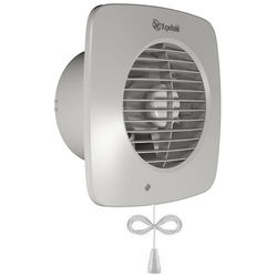 Xpelair Simply Silent Extractor Fan With Pullcord (150mm).