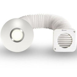 Xpelair Simply Silent Illumi Shower Fan With Installation Kit (100mm).