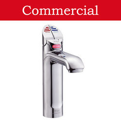 Zip G4 Classic Boiling Hot, Chilled & Sparkling Tap (61 - 100 People, Brush Chrome).