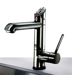 Zip G4 Classic AIO Boiling & Chilled Kitchen Tap (Gloss Black, Vented).
