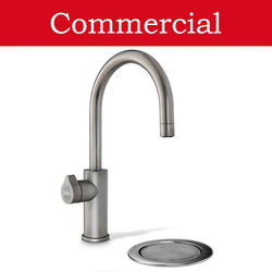 Zip Arc Design Filtered Boiling & Chilled Tap & Font (41 - 60 People, Gunmetal).