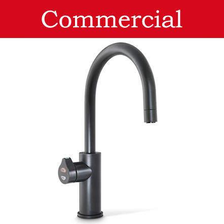 Zip Arc Design Filtered Boiling Water Tap (61 - 100 People, Matt Black).