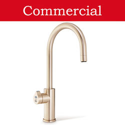 Zip Arc Design Filtered Boiling Water Tap (61 - 100 People, Brushed Rose Gold).