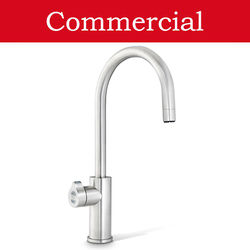 Zip Arc Design Boiling, Chilled & Sparkling Tap (41 - 60 People, Brushed Nickel).