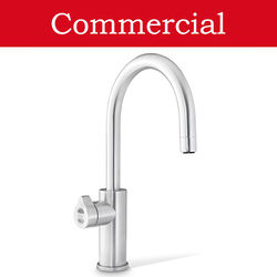Zip Arc Design Boiling, Chilled & Sparkling Tap (41 - 60 People, Brushed Chrome).
