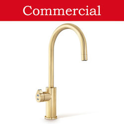 Zip Arc Design Boiling, Chilled & Sparkling Tap (41 - 60 People, Brushed Gold).