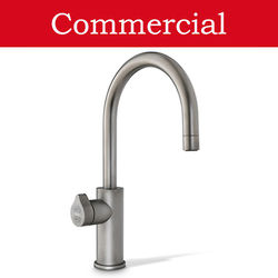 Zip Arc Design Boiling, Chilled & Sparkling Tap (41 - 60 People, Gunmetal).