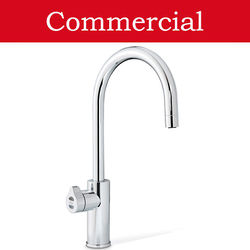 Zip Arc Design Boiling, Chilled & Sparkling Tap (61 - 100 People, Bright Chrome).