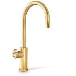 Zip Arc Design Boiling Hot Water, Chilled & Sparkling Tap (Brushed Gold).