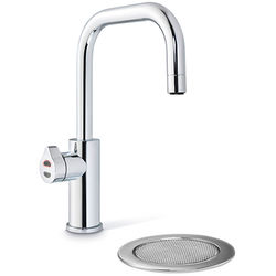Zip Cube Design Boiling, Chilled, Sparkling Water Tap & Font (Bright Chrome).