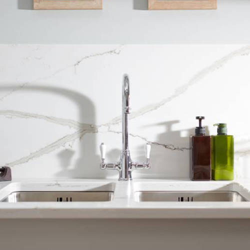 Additional image for Ludlow Monobloc Kitchen Tap (Chrome).