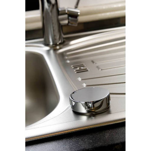 Additional image for Swich Diverter Kit With Round Handle (Chrome).
