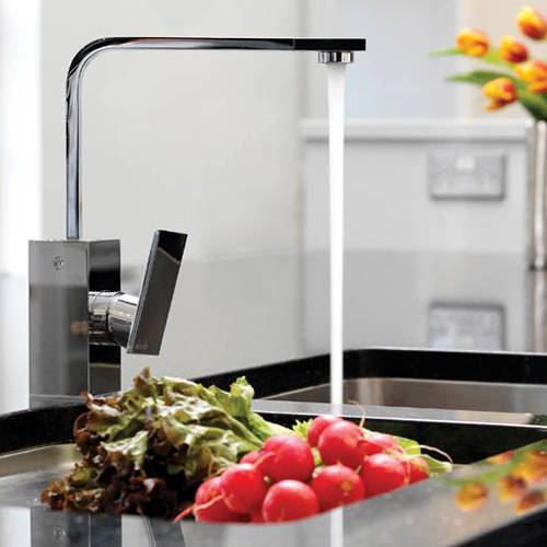 Additional image for New Media Single Lever Kitchen Tap (Chrome).