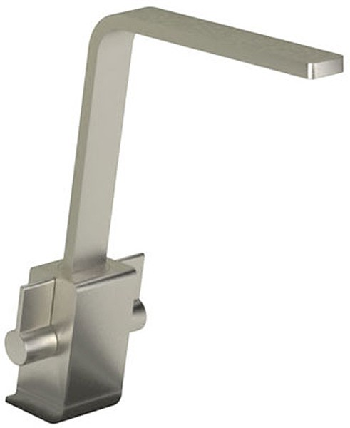 Additional image for Verso Monobloc Kitchen Tap With Swivel Spout (Brushed Nickel).