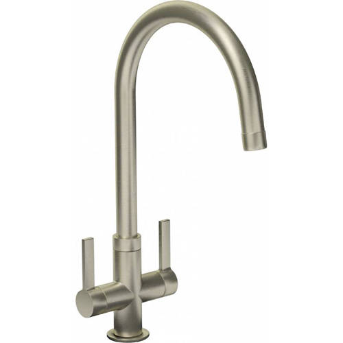 Additional image for Pico Monobloc Kitchen Tap (Brushed Nickel).