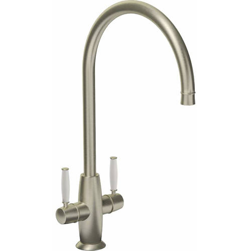 Additional image for Harrington Monobloc Kitchen Tap (Brushed Nickel).