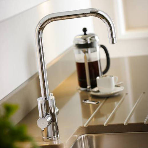 Additional image for Project Kitchen Tap, Boiling, Hot, Cold & Filtered (Chrome).