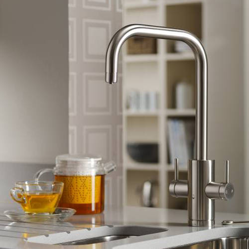 Additional image for Project Kitchen Tap, Boiling, Hot, Cold & Filtered (B Nickel).