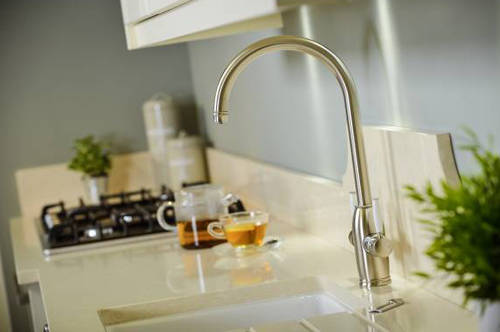 Additional image for Province Kitchen Tap, Boiling, Hot, Cold & Filtered (B Nickel).