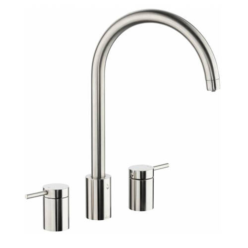 Additional image for Profile Kitchen Tap, Boiling, Hot, Cold & Filtered (B Nickel).