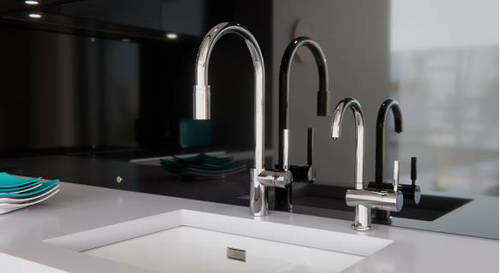 Additional image for Boiling Hot & Cold Filtered Kitchen Tap 98° (Chrome).