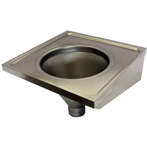 Additional image for Hospital Sluice Sink (Stainless Steel).