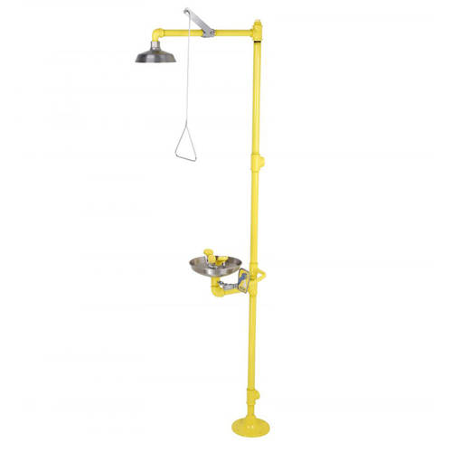Additional image for Combination Emergency Drench Shower With Column (S Steel Head).