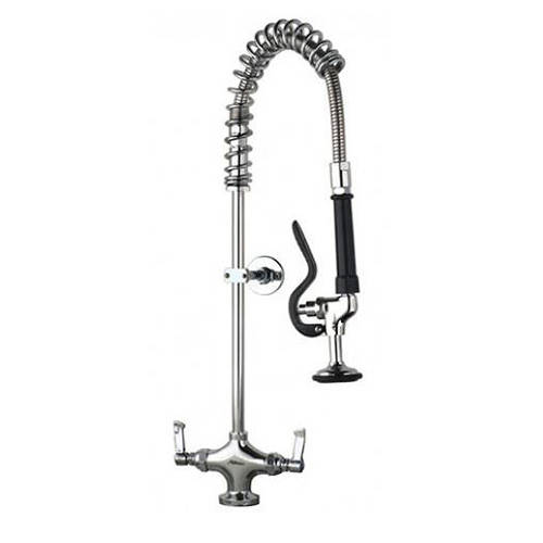 Additional image for Short Pre Rinse Monoblock Catering Tap (Chrome).