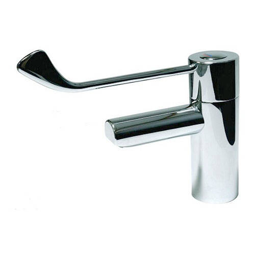 "Additional image for TMV3 Thermostatic Basin Mixer Tap With 6"" Lever Handle."