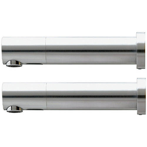 Additional image for 2 x Wall Mounted E Sensor Taps Kit 220mm (Battery Powered).
