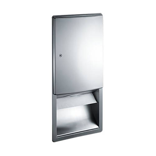 Additional image for Designer Recessed Paper Towel Dispenser (Stainless Steel).