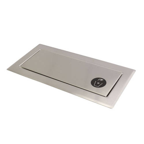Additional image for Countertop Waste Door (Stainless Steel).