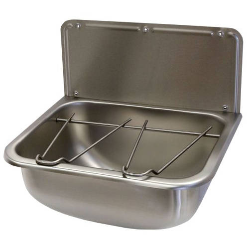 Additional image for Wall Mounted Bucket Sink 455mm (Stainless Steel).