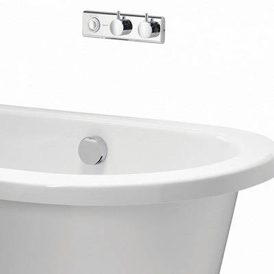 Additional image for Digital Bath Valve Kit 10 & Overflow Bath Filler (Gravity).
