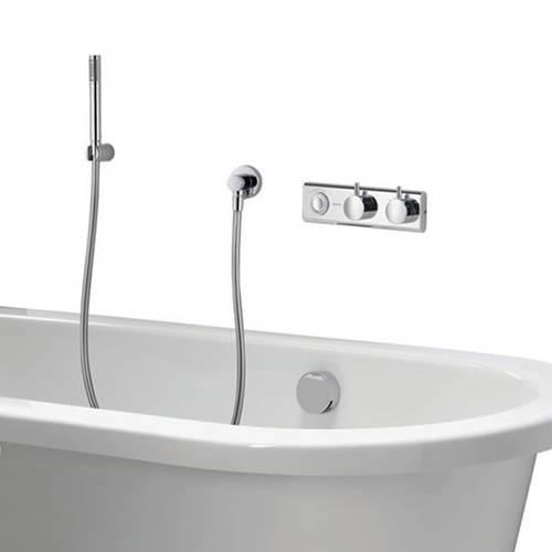 Additional image for Digital Bath Valve Kit 11 With Bath Filler & Shower Kit (HP, Combi).
